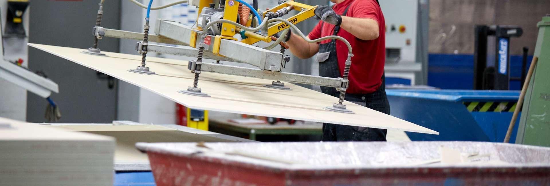 Vielfältiger Einsatz von Brandschutzplatten in der weiterverarbeitenden Industrie